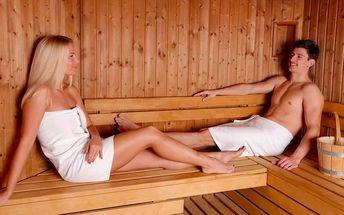 90 minut privátní sauny až pro 4 osoby