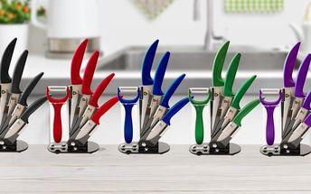 6dílná sada keramických nožů Royalty Line včetně škrabky