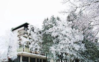 Zimní pobyt pro 2 osoby na 3 až 6 dní v hotelu Medlov*** s polopenzí a rumovou degustací.