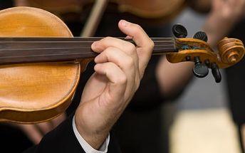 Vstupenka na koncert v kostele U Salvátora. Symfonický koncert světových skladatelů.