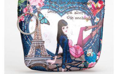 Peněženka Jeans Girl mini na drobné mince