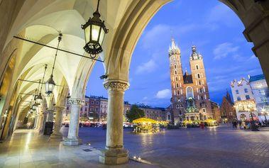 Turistické zajímavosti Polska s pohodlným ubytováním v Hotelu Krzywaczka *** u Krakova