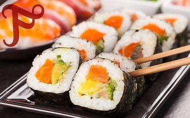 Až 70% sleva na bohaté sushi sety, 28 až 56 kousků