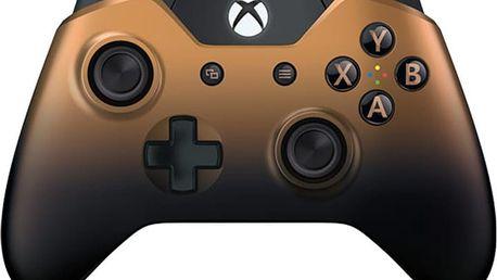 Microsoft Xbox ONE Gamepad Langley, bezdrátový, bronzový (Xbox One) - GK4-00033