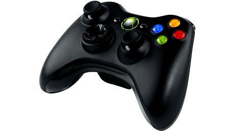 Microsoft Xbox 360 Gamepad, bezdrátový (Xbox 360) - NSF-00002