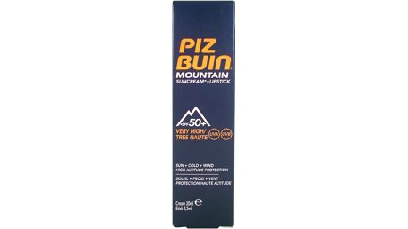 PIZ BUIN New PB SPF50 Moutain Cream + Stick SPF30 20ml