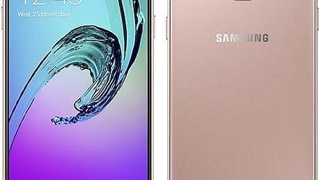 Mobilní telefon Samsung A3 2016 (SM-A310F) (SM-A310FEDAETL) růžový