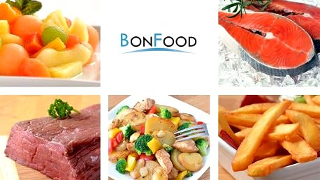 Sleva 20 % na veškerý sortiment e-shopu BonFood – mražené ryby a hovězí maso