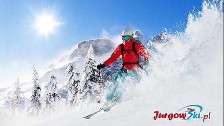 Celodenní skipas na denní a večerní lyžování v oblíbeném polském středisku Jurgow Ski