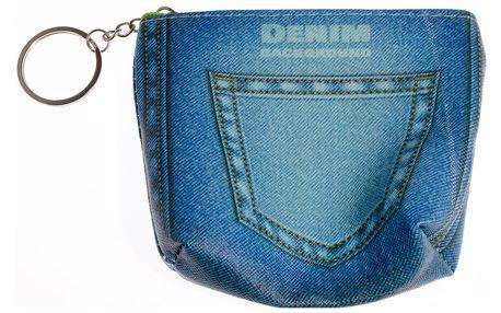 Peněženka Jeans mini na drobné mince