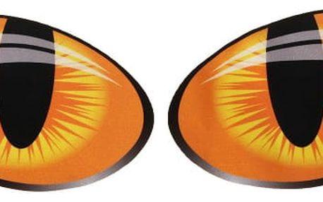 Samolepky v podobě kočičích očí