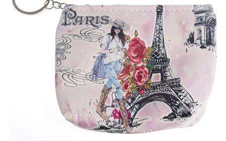 Peněženka Paříž mini na drobné mince