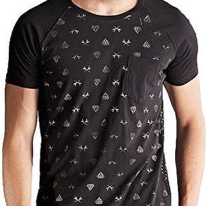Edward Jeans Pánské triko Pond T-Shirt 16.1.1.01.065 XL