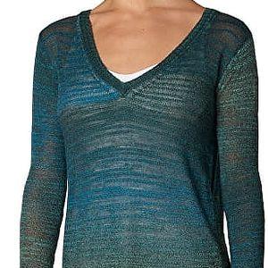 Prana Dámský svetr Julien Sweater Deep Teal L