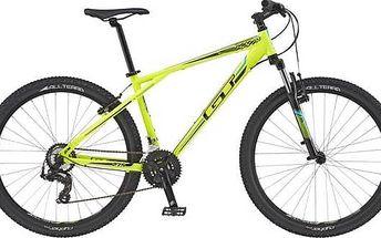 "Horské kolo GT 2016 Aggressor 27,5"" Sport, vel. S - neon yellow/black bílé/žluté + Doprava zdarma"