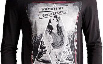 Edward Jeans Pánské triko s dlouhým rukávem Grand T-Shirt 16.1.1.01.056 L