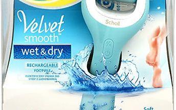 Scholl Elektrický pilník na chodidla do vody Velvet Smooth (Wet And Dry)