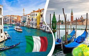 Velikonoce v Benátkách pro 1 osobu v termínu 14. - 16.4.2017. Prožijte sváteční atmosféru v tomto jedinečném městě. Vydejte se na Velikonoce do Benátek.