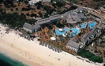 Keňa - Diani Beach na 9 dní, polopenze s dopravou letecky z Prahy
