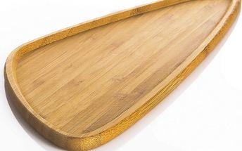 Bambusový servírovací talíř Viego Triangle L