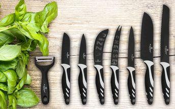 Sada nožů a škrabky v dárkovém balení