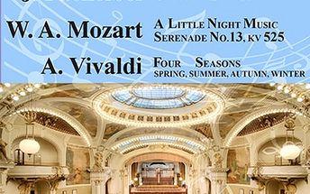 Antonio Vivaldi - Čtvero ročních dob v Obecním doměv podání Bohemian Symphony Orchestra Prague.