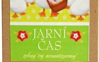Velikonoční sypané čaje - SLEVA blížící se datum spotřeby - Zelený čaj Jarní čas