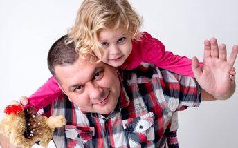 Profesionální ateliérové focení vaší rodiny