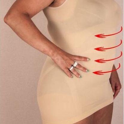 Nadměrný zpevňující dámský nátělník se sauna efektem ve velikostech 48 - 62!