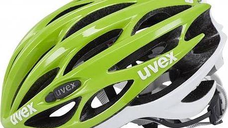 Přilba Uvex Race 1, vel. 55-59cm zelená + Doprava zdarma