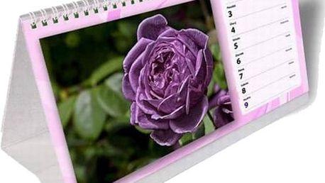 Výběr ze 4 druhů kalendářů - stolní, nástěnný, čtrnáctidenní nebo roční.