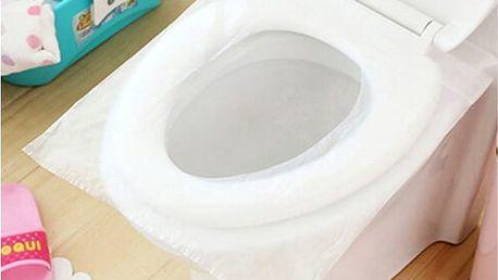 Jednorázový papír na záchodové sedátko 10 ks
