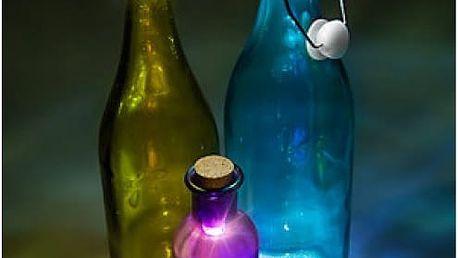 LED svítící zátka na láhev dobíjecí