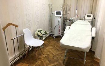 Bezbolestná epilace vybraných partií diodovým laserem v délce 5-30 minut v centru Prahy