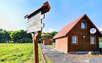 Pronájem dřevěného srubu pod Tatrami pro 4 osoby