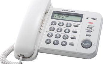 Pevná linka Panasonic KX TS560FXW