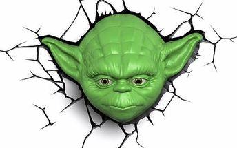 3D LIGHT FX světlo EP7 - Star Wars Yodova hlava
