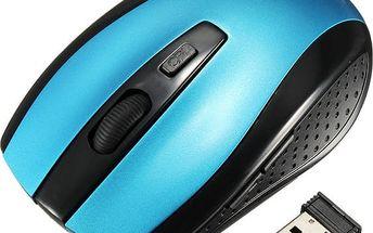 Bezdrátová myš se šesti tlačítky