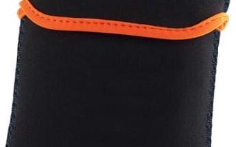"""Pouzdro na tablet GoGEN neoprenové pro 7,85"""" (GOGTA785BAGO) černé/oranžové"""