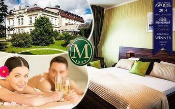 Nový Bor: wellness hýčkání v hotelu Morris