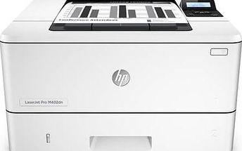 Tiskárna laserová HP LaserJet Pro 400 M402dn (C5F94A) bílá Software F-Secure SAFE 6 měsíců pro 3 zařízení (zdarma) + Kabel za zvýhodněnou cenu + Doprava zdarma