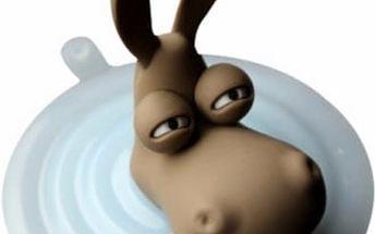 Veselý klip na kabel od počítačové myši - Oslíkovo hlava