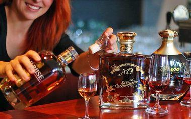 Dovolená na Vysočině pro DVA na 3 dny s rumovou degustací