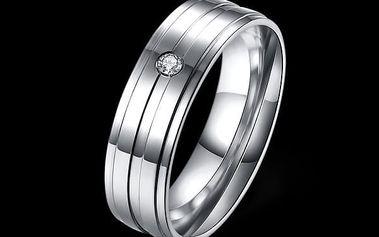 Prstýnek z nerezové oceli pro muže i ženy