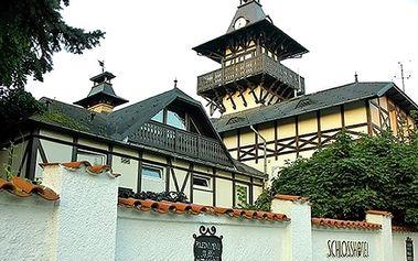 Léčebný pobyt pro 2 osoby na 3, 4 nebo 7 dní v Zámeckém hotelu Sanatorium*** s polopenzí.