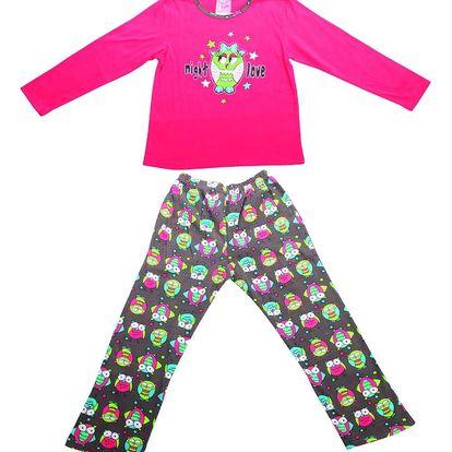 Dětské pyžamo Night dream sovičky