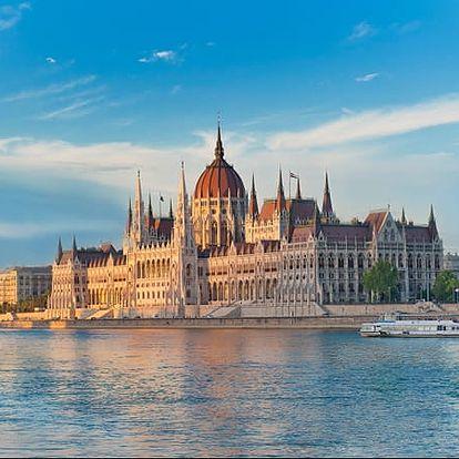 Budapešť. Wellness pobyt pro 2 osoby + 1 dítě do 12 let se snídaní v luxusním 4*hotelu Mediterran.