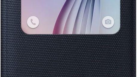 Samsung pouzdro S View EF-CG920B pro Galaxy S6 (G920), černá - EF-CG920BBEGWW