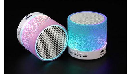 Svítící bluetooth reproduktor pro telefon a PC