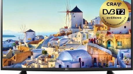 Televize LG 32LH590U stříbrná